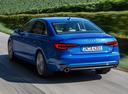 Фото авто Audi A4 B9, ракурс: 135 цвет: голубой