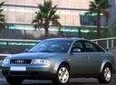 Фото авто Audi A6 4B/C5 [рестайлинг], ракурс: 45 цвет: серый