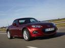 Фото авто Mazda MX-5 NC [2-й рестайлинг], ракурс: 315 цвет: красный