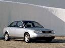 Фото авто Audi A6 4B/C5, ракурс: 315 цвет: серебряный