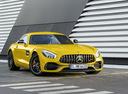 Фото авто Mercedes-Benz AMG GT C190 [рестайлинг], ракурс: 315 цвет: желтый