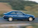 Фото авто BMW 3 серия E36, ракурс: 270 цвет: синий