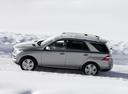 Фото авто Mercedes-Benz M-Класс W166, ракурс: 90 цвет: серый
