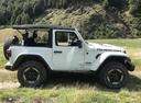 Фото авто Jeep Wrangler JL, ракурс: 270 цвет: белый