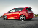 Фото авто Mazda 3 BL, ракурс: 135 цвет: красный