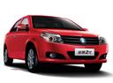 Фото авто Geely MK 1 поколение [рестайлинг], ракурс: 315 цвет: красный