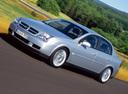 Фото авто Opel Vectra C, ракурс: 45 цвет: серебряный