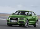 Фото авто Audi Q3 8U [рестайлинг], ракурс: 45 цвет: зеленый