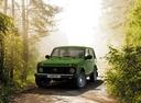Фото авто ВАЗ (Lada) 4x4 1 поколение [2-й рестайлинг], ракурс: 45 цвет: зеленый