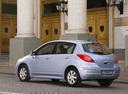 Фото авто Nissan Tiida C11 [рестайлинг], ракурс: 135 цвет: голубой