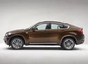 Фото авто BMW X6 E71 [рестайлинг], ракурс: 90 цвет: коричневый