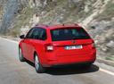 Фото авто Skoda Octavia 3 поколение, ракурс: 135 цвет: красный