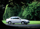 Фото авто Mitsubishi Lancer IX, ракурс: 270 цвет: серебряный