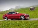 Фото авто Cadillac CTS 3 поколение, ракурс: 270 цвет: красный