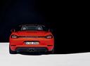 Фото авто Porsche Boxster 982, ракурс: 180 цвет: оранжевый