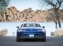 Фото авто Mercedes-Benz AMG GT C190 [рестайлинг], ракурс: 180 цвет: голубой