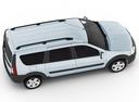 Фото авто ВАЗ (Lada) Largus 1 поколение, ракурс: сверху цвет: белый