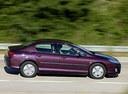 Фото авто Peugeot 407 1 поколение, ракурс: 270 цвет: бордовый