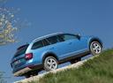 Фото авто Skoda Octavia 3 поколение [рестайлинг], ракурс: 270 цвет: синий