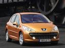 Фото авто Peugeot 207 1 поколение, ракурс: 315 цвет: бронзовый