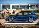 Фото авто BMW X1 F48, ракурс: 90 цвет: синий