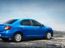 Фото авто Renault Logan 2 поколение, ракурс: 225 цвет: синий
