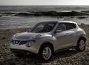 Фото авто Nissan Juke YF15, ракурс: 45 цвет: серебряный