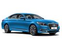 Фото авто Genesis G80 1 поколение, ракурс: 315 цвет: голубой