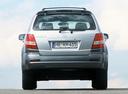 Фото авто Kia Sorento 1 поколение, ракурс: 180 цвет: серебряный