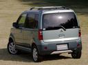 Фото авто Mitsubishi eK H81W, ракурс: 135 цвет: зеленый