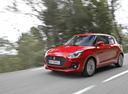 Фото авто Suzuki Swift 5 поколение, ракурс: 45 цвет: красный