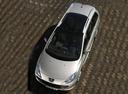 Фото авто Peugeot 307 1 поколение [рестайлинг], ракурс: сверху цвет: серебряный