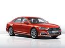 Фото авто Audi A8 D5, ракурс: 315 - рендер цвет: красный