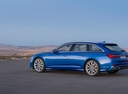 Фото авто Audi A6 C8, ракурс: 135 цвет: синий