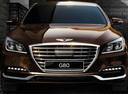 Фото авто Genesis G80 1 поколение,  цвет: коричневый