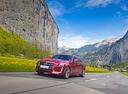 Фото авто Cadillac CTS 3 поколение, ракурс: 45 цвет: красный