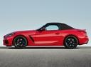 Фото авто BMW Z4 G29, ракурс: 90 цвет: красный