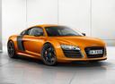 Фото авто Audi R8 1 поколение [рестайлинг], ракурс: 315 цвет: оранжевый