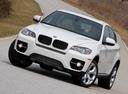 Фото авто BMW X6 E71/E72, ракурс: 45 цвет: белый