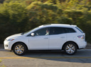Фото авто Mazda CX-7 1 поколение, ракурс: 90 цвет: белый