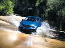 Фото авто SsangYong Actyon 1 поколение, ракурс: 45 цвет: синий