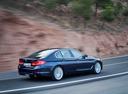 Фото авто BMW 5 серия G30, ракурс: 225 цвет: синий