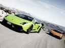 Фото авто Lamborghini Gallardo 1 поколение, ракурс: 45 цвет: зеленый
