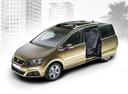 Фото авто SEAT Alhambra 2 поколение, ракурс: 45 цвет: бронзовый
