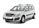 Подержанный ВАЗ (Lada) Largus, белый , цена 400 000 руб. в Челябинской области, отличное состояние