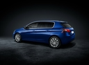 Фото авто Peugeot 308 T9 [рестайлинг], ракурс: 135 цвет: синий