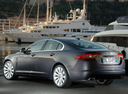 Фото авто Jaguar XF X250, ракурс: 90 цвет: серый