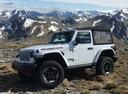 Фото авто Jeep Wrangler JL, ракурс: 45 цвет: белый