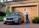 Фото авто Skoda Superb 2 поколение,  цвет: сиреневый