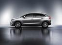 Фото авто Suzuki Baleno 2 поколение, ракурс: 90 цвет: серебряный